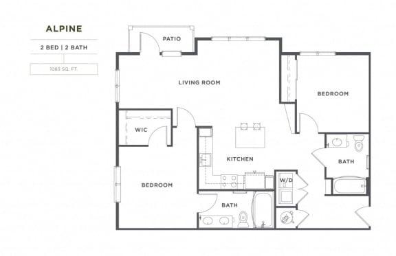 Floor Plan  Alpine FloorPlan at Broadstone Montane, Parker, Colorado