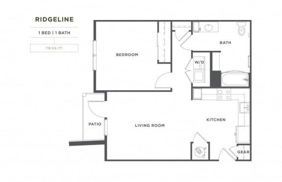 Floor Plan  Ridgeline FloorPlan at Broadstone Montane, Parker, Colorado