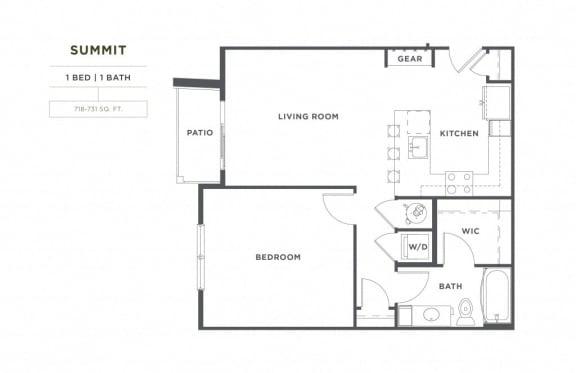 Floor Plan  Summit FloorPlan at Broadstone Montane, Parker, 80138