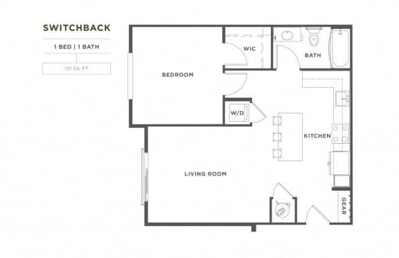Floor Plan  Switchback FloorPlan at Broadstone Montane, Colorado, 80138