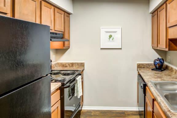 Fully Equipped Kitchen at Verandas at Rocky Ridge, Birmingham, AL, 35216