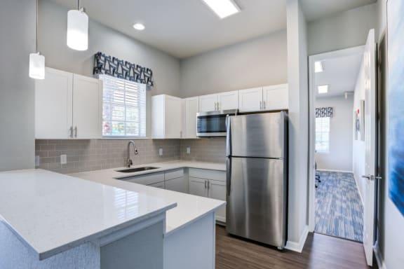 Kitchens With High-Quality Countertops at Village at Lake  Highland, Lakeland, Florida