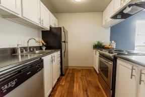 Renton Apartments - The Aviator Apartments - Kitchen