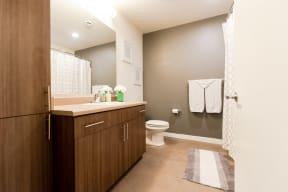 Kent Apartments - The Platform Apartments - Bathroom