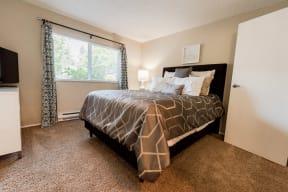Everett Apartments - Tessera Apartments - Master Bedroom 1
