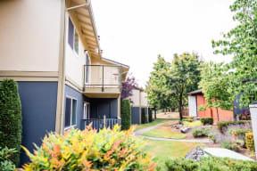 Everett Apartments - Tessera Apartments - Rear Exteriors