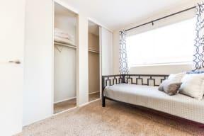 Everett Apartments - Tessera Apartments - Second Bedroom
