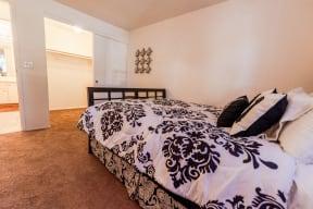 Tacoma Apartments - The Lodge at Madrona Apartments - Master Bedroom