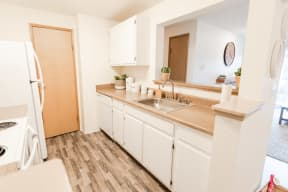 Tacoma Apartments - Monterra Apartments - Kitchen and Living Room