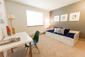 Tacoma Apartments - Aero Apartments - Alternate Bedroom