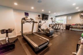 Tacoma Apartments - Aero Apartments - Fitness Center