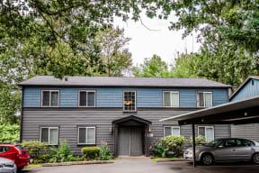 Tacoma Apartments - Aero Apartments - Front Exterior