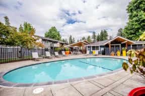 Tacoma Apartments - Aero Apartments - Pool