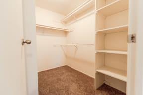 Fife Apartments - The Lakes at Fife Apartments - Master Closet