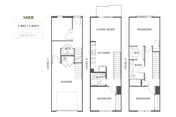Floor Plan  14er FloorPlan at Broadstone Montane, Colorado