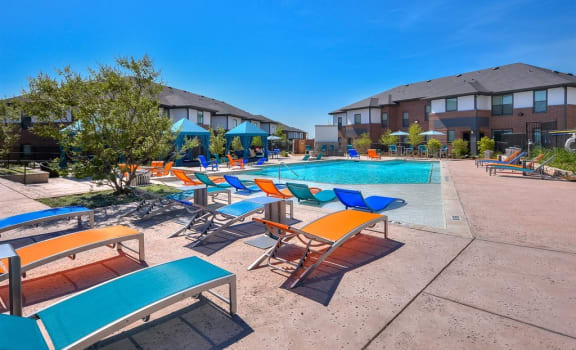 Resort Style Pools at The Emerson, Pflugerville, Texas