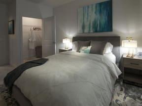 Bedroom Closet at Pinyon Pointe, Loveland, CO, 80537