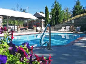 Sparkling Swimming Pool at Willina Ranch, Bothell, WA
