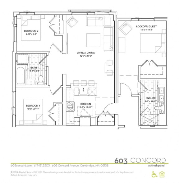 Floor Plan  Floor Plan at 603 Concord