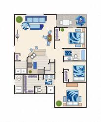 Floor Plan Cassia