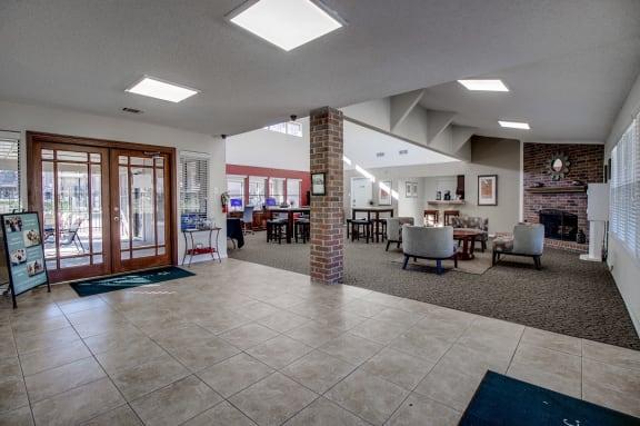 Towne Centre Village Apartments office entrance