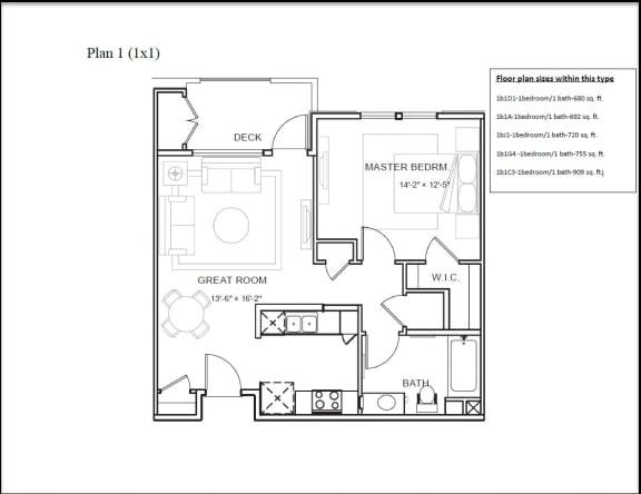 Floor Plan  Plan 1