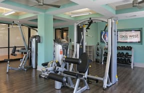 Axis West Fitness Center with Cardio, Free Weight and Strength Training Equipment