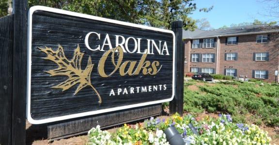 Carolina Oaks Monument Sign
