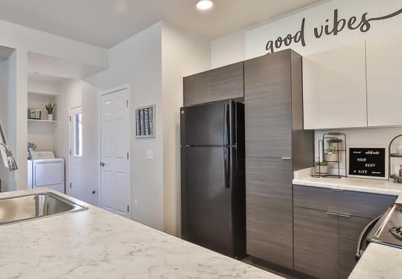 Kitchen at San Mateo in Phoenix AZ