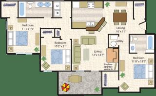 Floor Plan Paso Fino