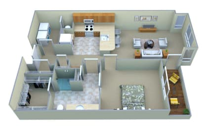A1 Mountain View Floor Plan Layout