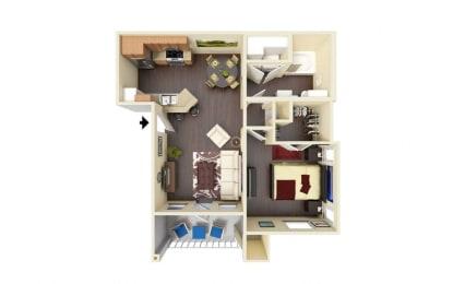 Cypress Floor Plan at Residence at Midland, Midland, 79706