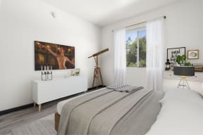 Bedroom with Ample Space
