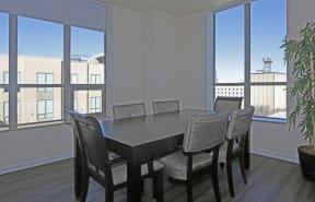 Dining Room  l Penthouse at Capitol Park
