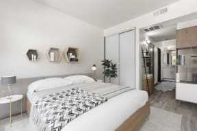 Large Bedroom with Bathroom