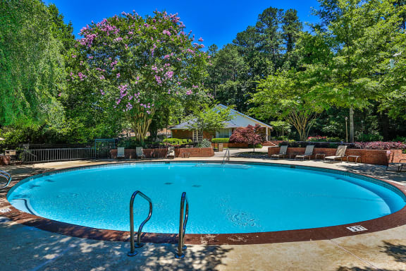 Two Recreational Pools at Apartments on Delk Rd in Marietta GA