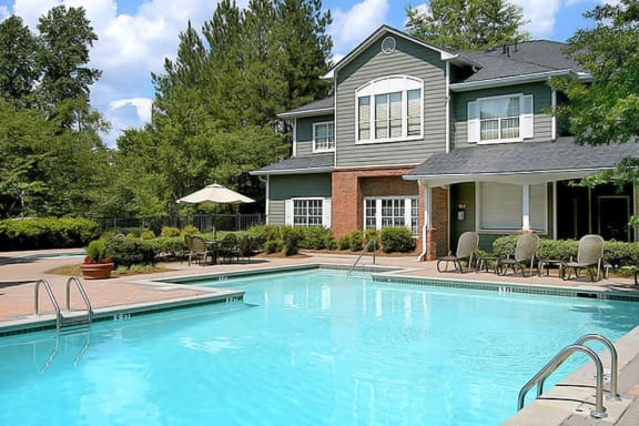 Refreshing Swimming Pool at Apartments on South Cobb Drive