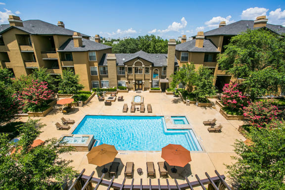 Dallas Apartments near Me with Two Swimming Pools