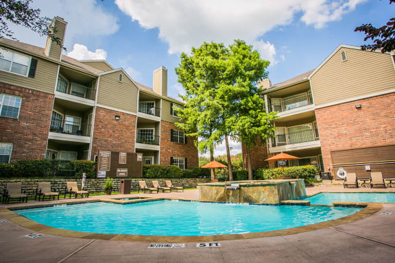 Resort Style Pool at Irving TX apartments near me