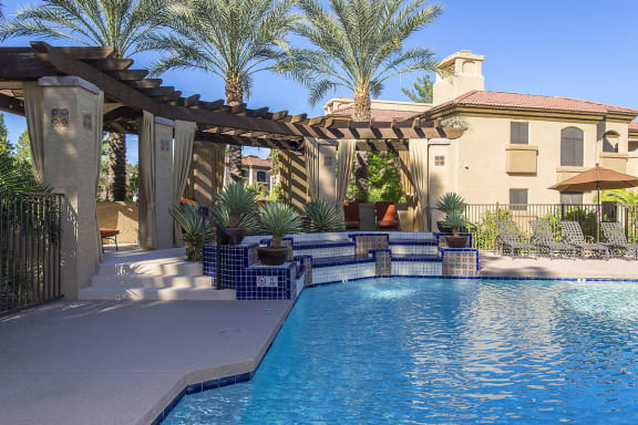 Crystal Clear Swimming Pool at Best Apartments in Scottsdale