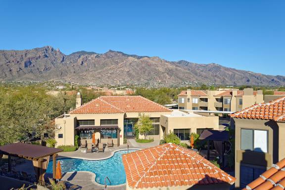Scenic Catalina Foothill Views at La Paloma Apartments Tucson AZ