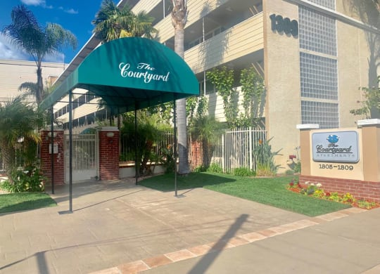 Entry To The Property at Courtyard, Redwood City
