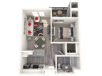 Misson Floor Plan at 55+ FountainGlen Laguna Niguel, Laguna Niguel, 92677
