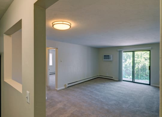 One-bedroom with balcony at Mansfield Meadows Apartments in Mansfield, MA
