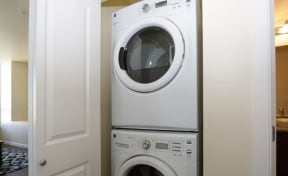 Washer and dryer l Penthouse at Capitol Park