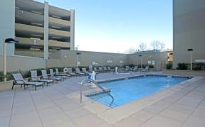 Sacramento CA Luxury Apartments-Penthouses at Capitol Park  l Pool