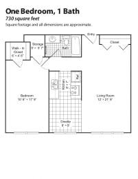 Brewster Place floorplan