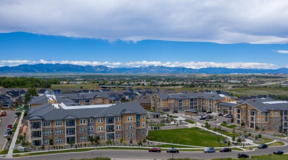Aerial View of Community   Caliber at Hyland Village