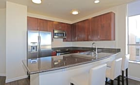 Apartments in Downtown Sacramento-Penthouses at Capitol Park Kitchen