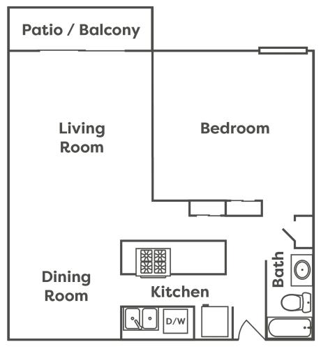 Floor Plan  Metro Fremont | Apartments | Floor Plan | Dempsey